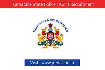Karnataka State Police ( KSP ) Recruitment 2018