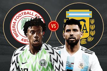 شاهد البث المباشر لمباراة الارجنتين ونيجريا اليوم الثلاثاء 26 يوينو كأس العالم 2018