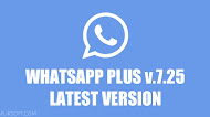 Download WhatsApp Plus v7.25 Latest Version Android