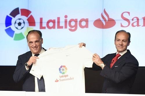 LaLiga confirma al Santander como nuevo title sponsor