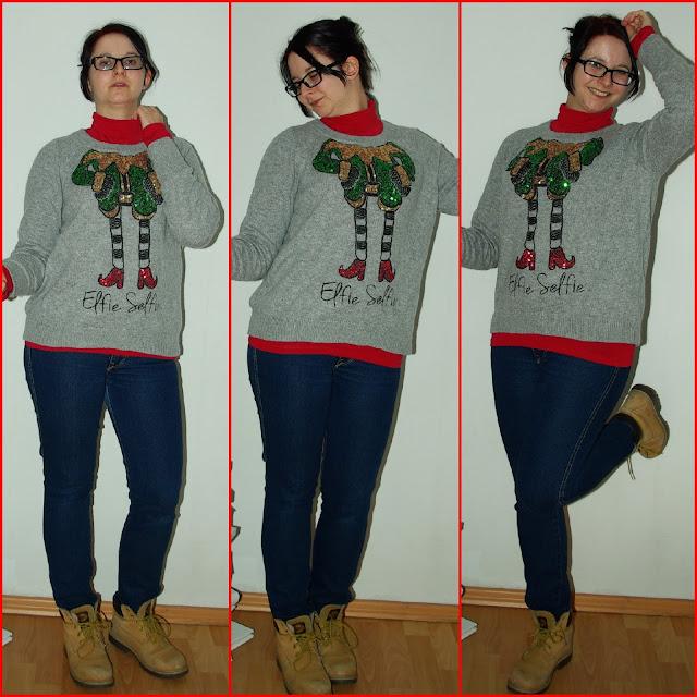 [Fashion] Elfie-Selfie - der perfekte Weihnachtspullover!