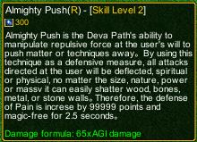 naruto castle defense 6.5 Almighty Push