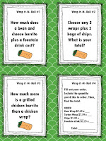 https://www.teacherspayteachers.com/Product/NEW-Food-Truck-Math-Wrap-it-N-Roll-Food-Truck-Math-Task-Cards-2606631