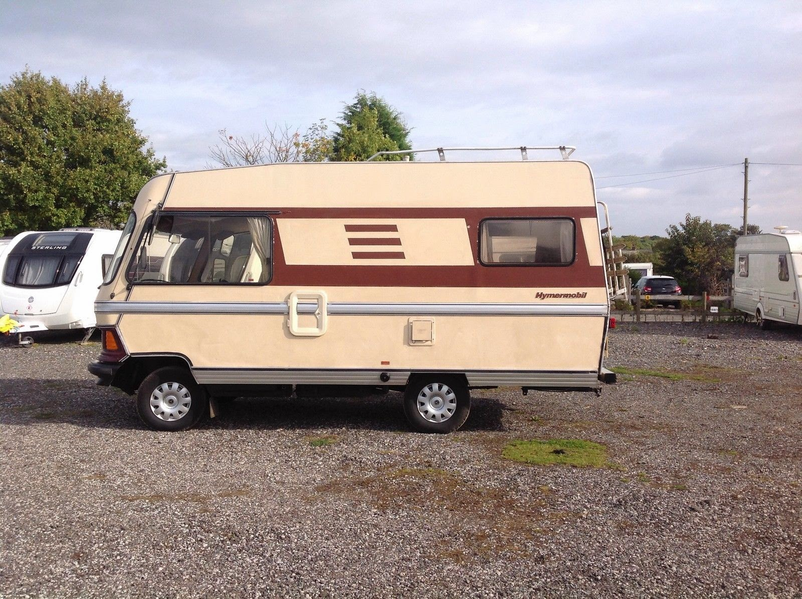 used rvs 1983 hymer motorhome for sale for sale by owner. Black Bedroom Furniture Sets. Home Design Ideas