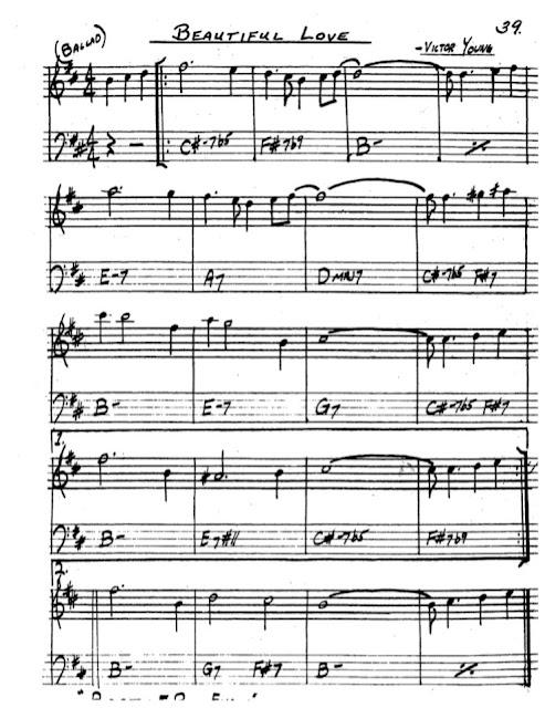 Partitura Saxofón Victor Young