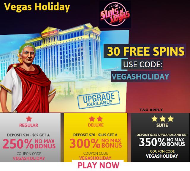 Slots of Vegas May 2017 Bonus Offers