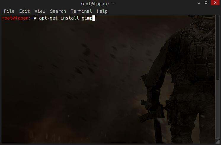 Cara Install Gimp Kali Linux