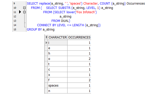count number of characters in a string oracle sql
