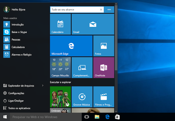 Windows 10 Pro Final Original Microsoft Vlsc: Windows 10 Pro Final 2015 PT-BR 32/64 Bits