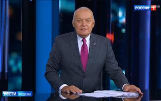 Kisseljow im russischen Fernsehen