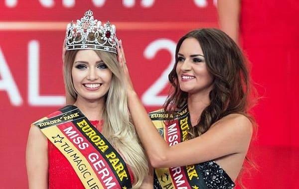 شاهد بالفيديو ملكة جمال المانيا 2017 ثريا كولمان