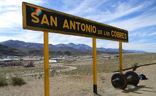 Estación San Antonio de los Cobres del Tren a las Nubes