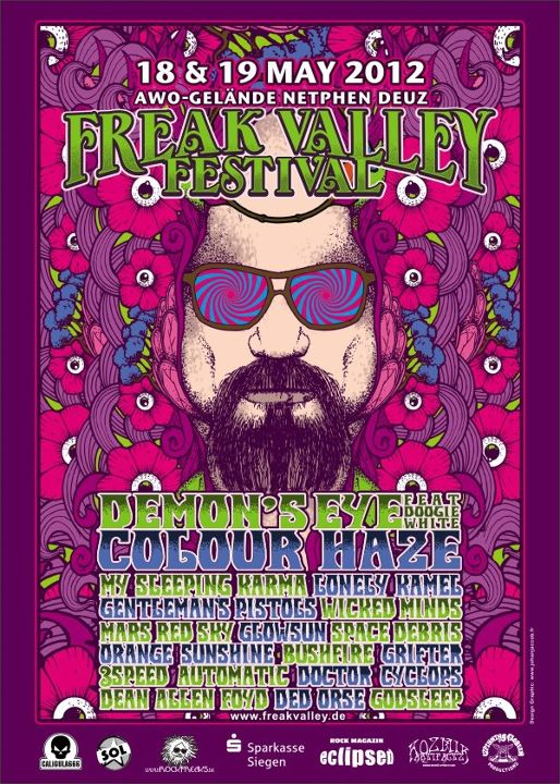 Godsleep Will Join Freak Valley Festival 2012 In Germany