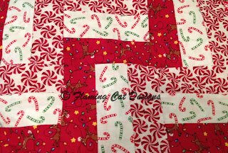 Candy Canes, Peppermints And Reindeer Fabrics