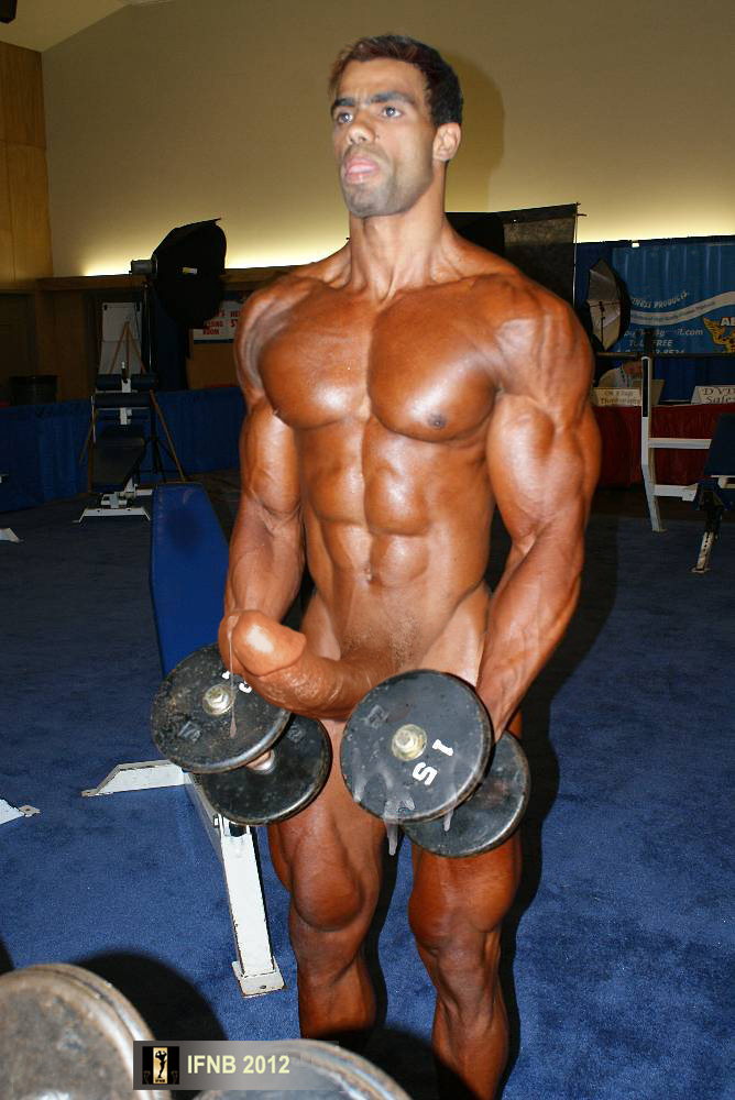 Body building nude male remarkable
