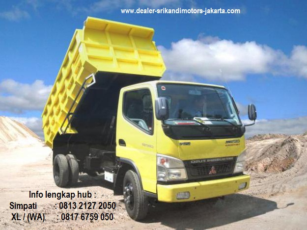 promo paket kredit dp ringan colt diesel dump truck 2017