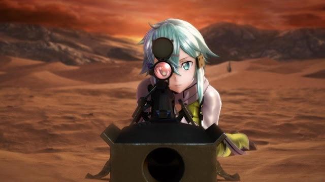 إستعراض للمزيد من الصور لأسلوب اللعب من Sword Art Online : Fatal Bullet