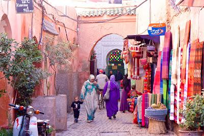 Улицы Марракеша, Марокко