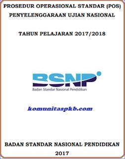 Download POS UN SMP SMA SMK Tahun 2018 - BSNP