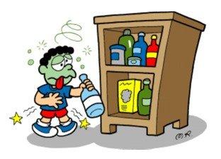 intoxicacao por inalacao de produtos de limpeza o que fazer