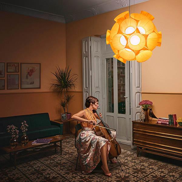 salon decoration retro campagne publicitaire fifties lzf