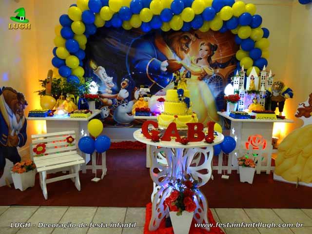 Decoração provençal Bela e a Fera- festa infantil