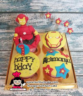 Cupcake Iron Man Avengers