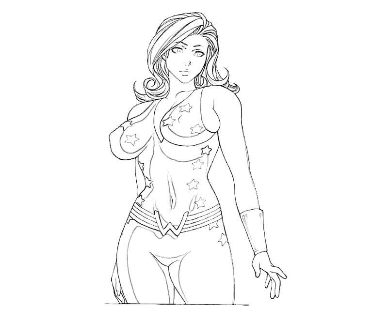 dc coloring pages | 10 Best DC Universe Actions | Yumiko Fujiwara