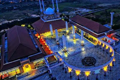 Masjid Agung Jawa Tengah, Salah Satu Masjid Termegah di Indonesia