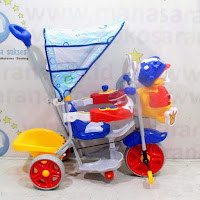 family duck baby tricycle