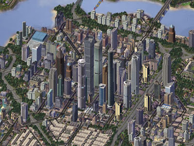 The strategy builds on the game SimCity