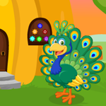 Play Games4King Cute Peacock Rescue