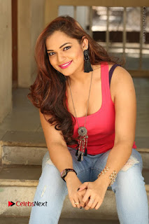 Tollywood Actress Ashwini Latest Stills in Ripped Jeans  0169.JPG