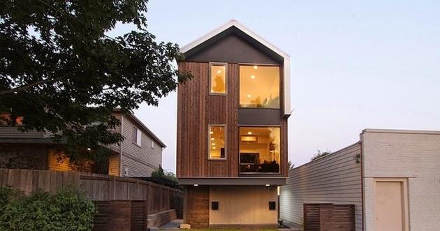 Desain Rumah Kecil Tiga Lantai  Desain Rumah Modern Minimalis