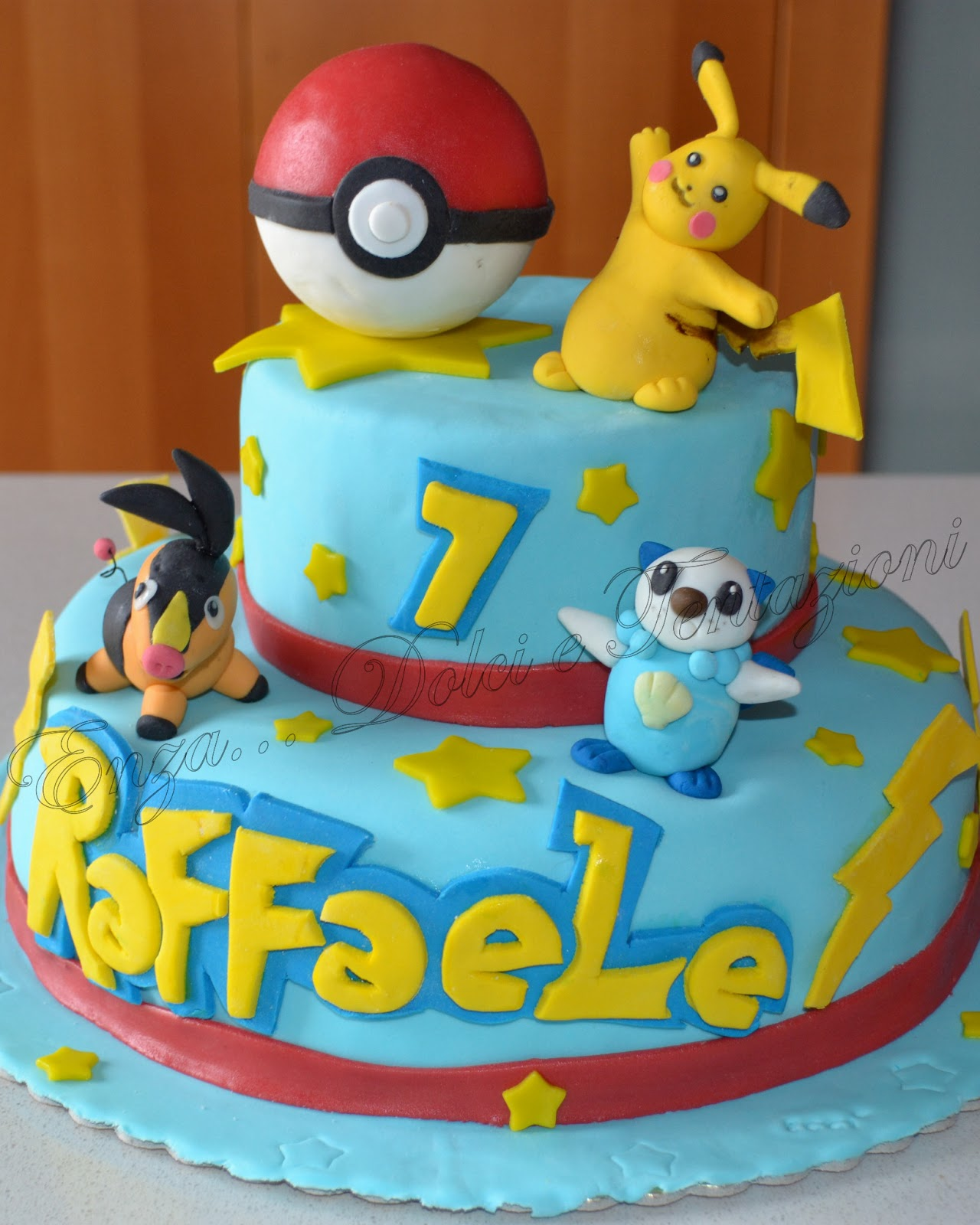 dolci decorazionietentazioni torta pokemon con tutto il mio amore. Black Bedroom Furniture Sets. Home Design Ideas