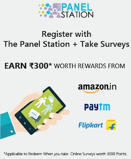 Panel Station Free Paytm cash