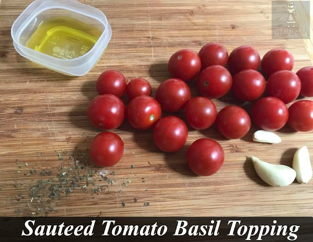 recipe, tomatoes, cherry tomatoes, basil, appetizer, dip