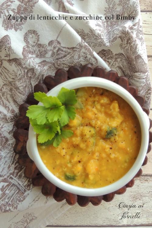 Zuppa di lenticchie col Bimby