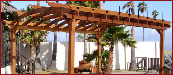 Pergoladiy Curved Roof Pergola Design