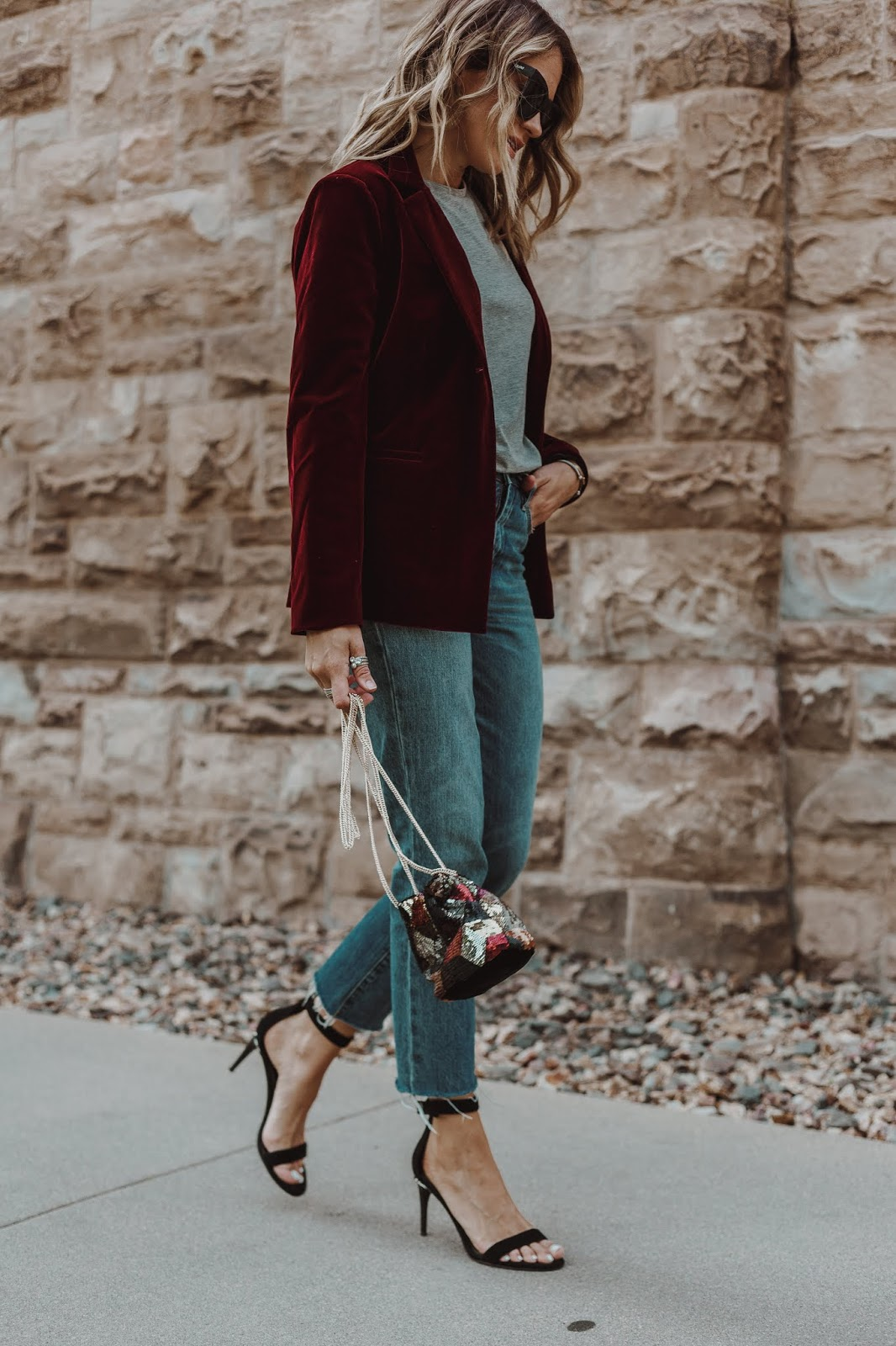 How To Style A Velvet Blazer