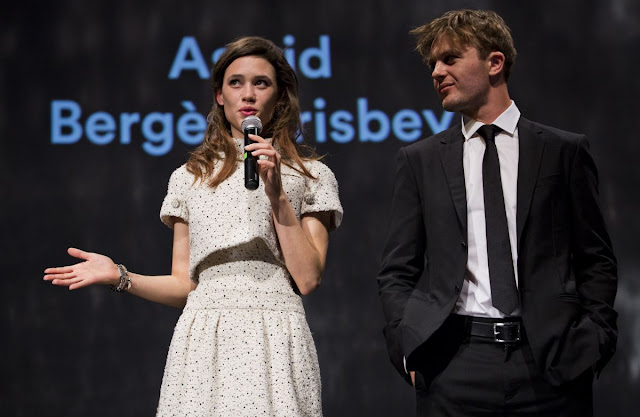 HQ Photos of Astrid Berges Frisbey At Karlovy Vary International Film Festival