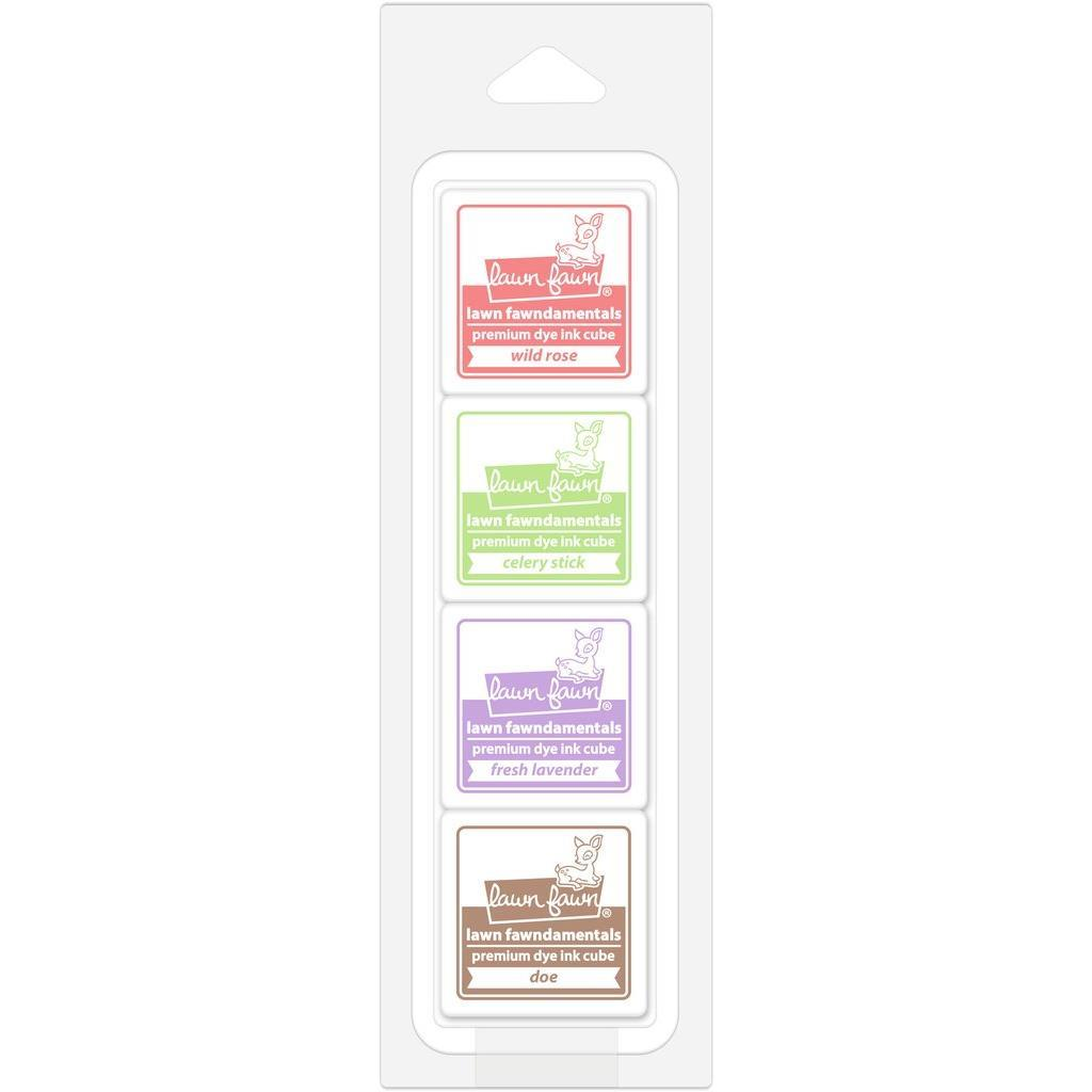 Lawn Fawn Ink Cube Pack, Tea Party