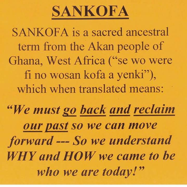Preparing Mindsets For A Higher Truth Sankofa Return And Take It