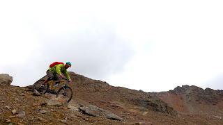 Mit dem Mountainbike aufs Bildstöckljoch