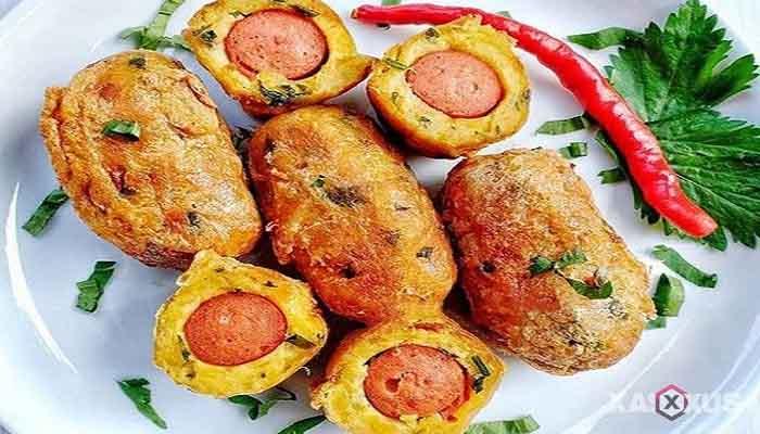 Resep cara membuat perkedel kentang sosis bakso