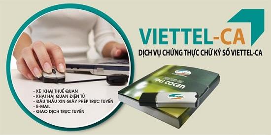 Chu ky so Viettel Ca su lua chon hang dau hien nay