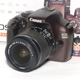 Kamera Canon Eos 1100D Second Fullset