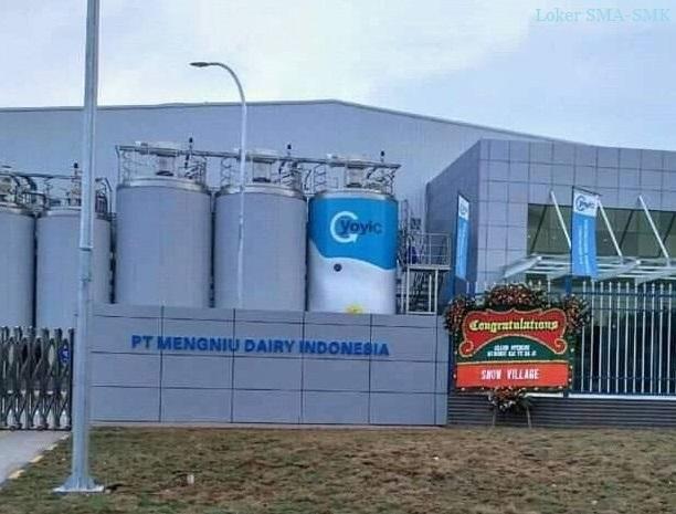 Lowongan Kerja GRATIS PT. Mengniu Dairy Indonesia