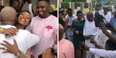 Former President John Mahama Turns Up At John Dumelo's Traditional Marriage