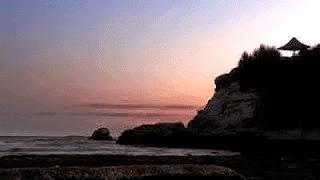 Sunset Pantai Klayar Pacitan